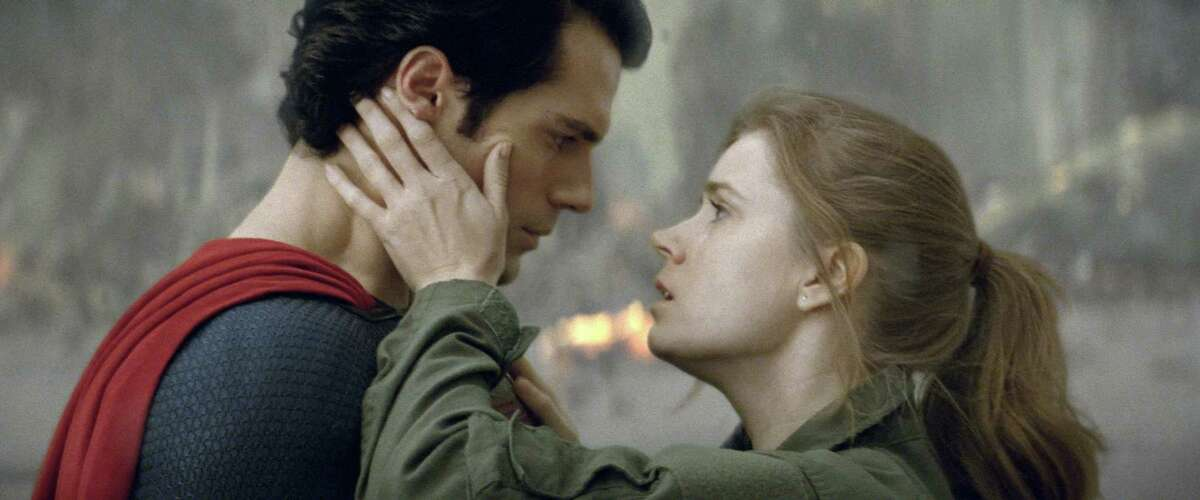 Amy Adams is gritty journalist Lois Lane, who stands by her Superman in