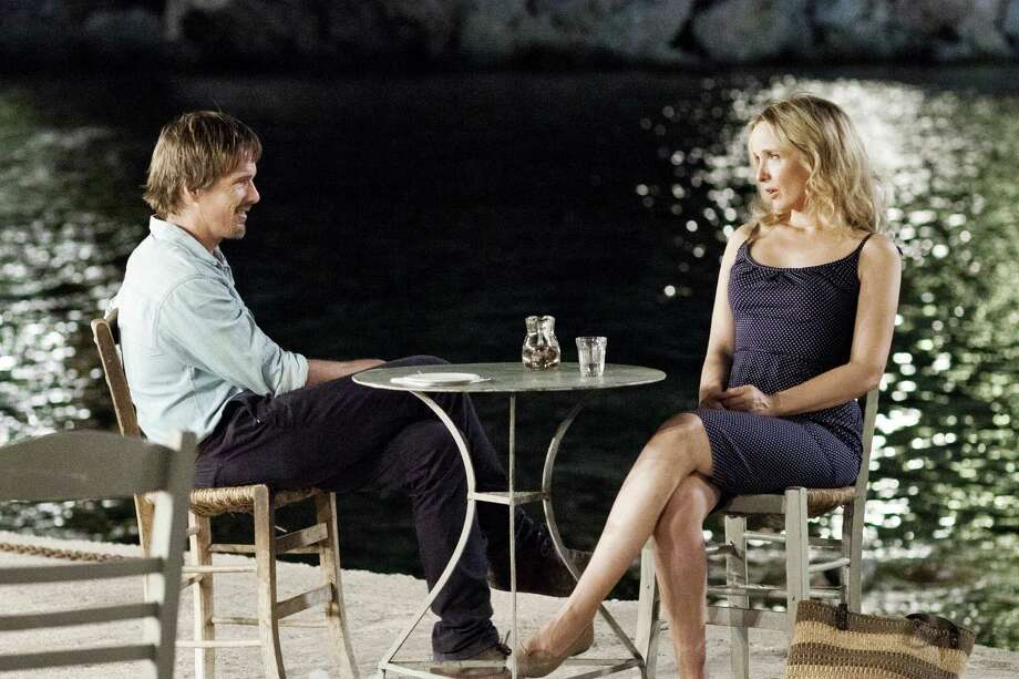 "Ethan Hawke reprises the role of Jesse and Julie Delpy again plays Celine in ""Before Midnight,"" Richard Linklater's sequel to ""Before Sunrise"" and ""Before Sunset."" Photo: Sony Classic Pictures"