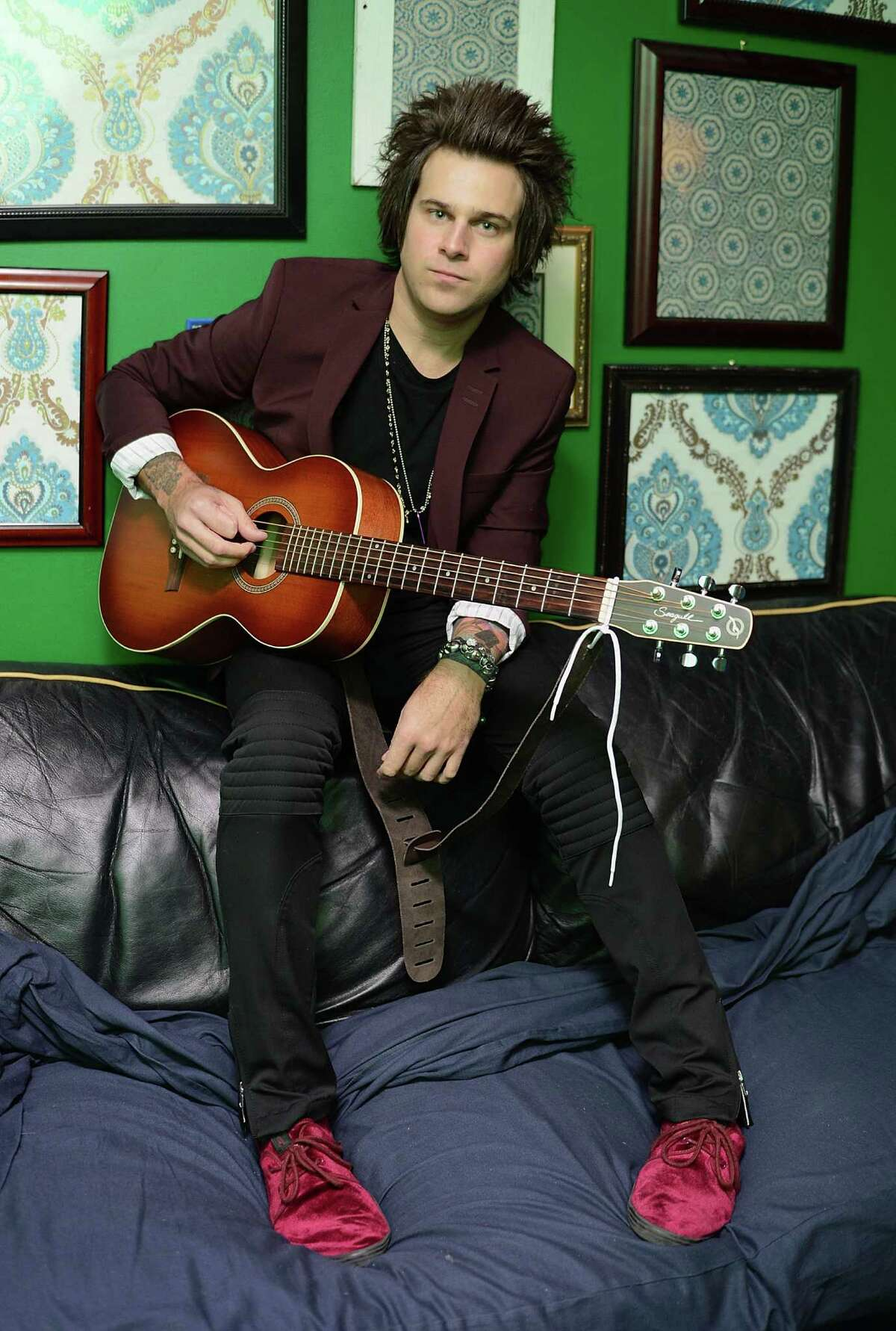 Ryan Cabrera performs at Stamford Downtown's Alive@Five concert series on Thursday, July 11.