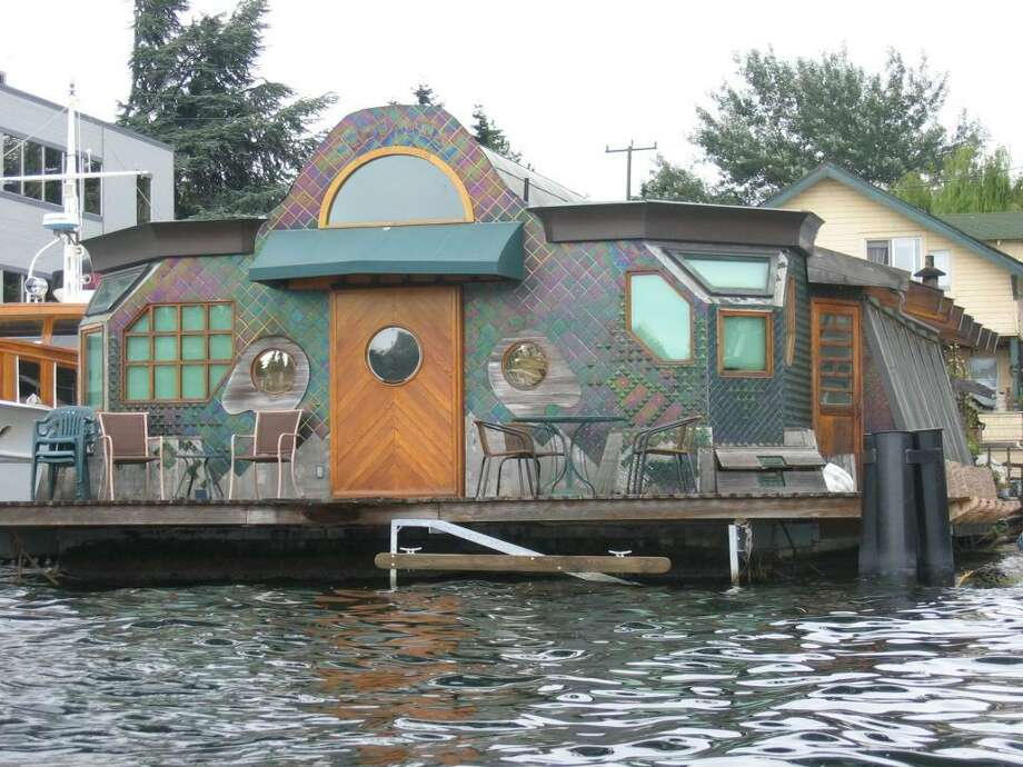 Seattle houseboat, now. They've come a long way in terms of personality.  Photo: City Of Seattle, -