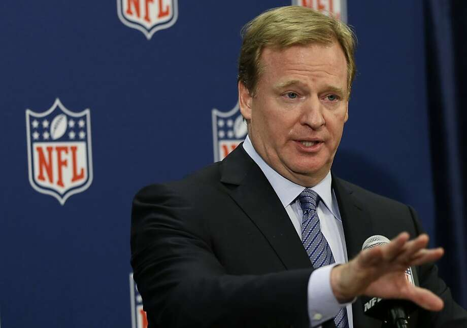 NFL exec Roger Goodell reaffirmed the league's support for the Washington team's nickname. Photo: Elise Amendola, Associated Press