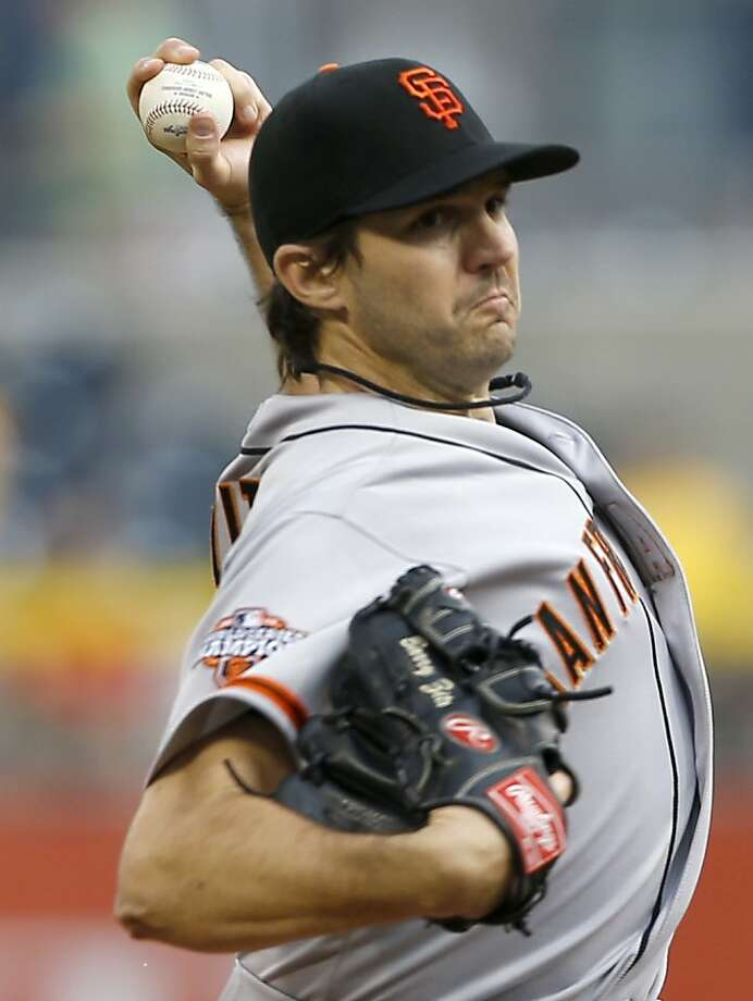 Barry Zito's ERA away from home rose to 11.28. Photo: Keith Srakocic, Associated Press