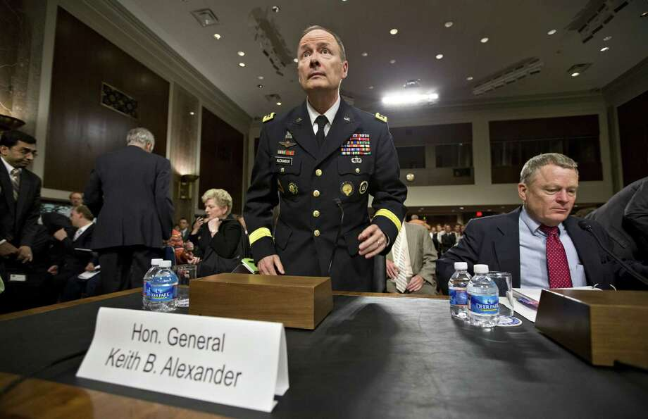"Gen. Keith Alexander, director of the National Security Agency, says, ""Our agency takes great pride in protecting this nation and our civil liberties and privacy."" Photo: J. Scott Applewhite / Associated Press"
