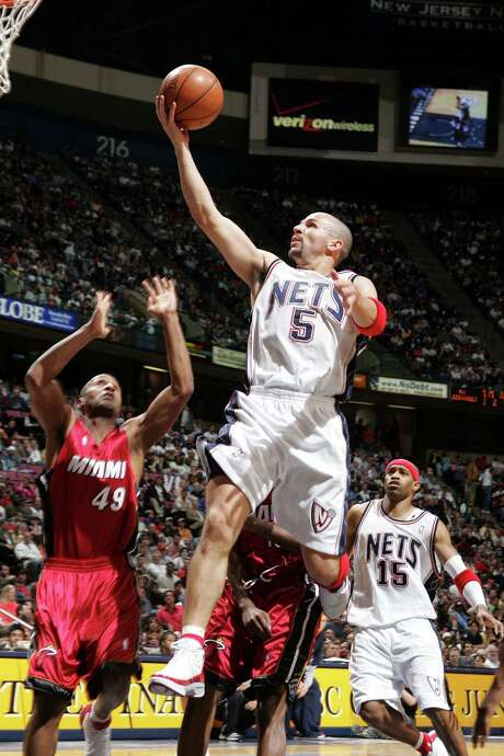 Jason Kidd led the Nets to consecutive NBA Finals. He returns to the franchise as coach. Photo: Jim McIsaac / Getty Images