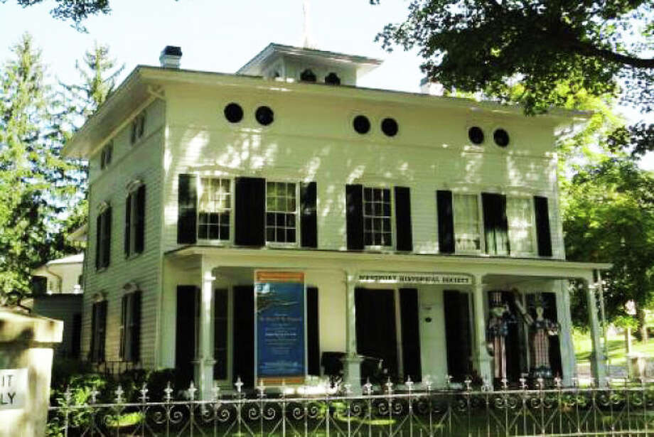 The Bradley-Wheeler House at 25 Avery Place, headquarters of the Westport Historical Society, has been granted official status as a historic landmark by the Representative Town Meeting. Photo: File Photo / Westport News