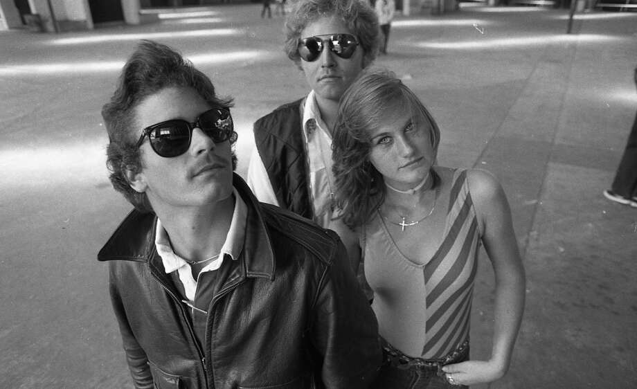 "Sept. 22, 1982: Mirrored sunglasses, leotards tucked in designer jeans, Han Solo vests ... they had it all going on at McAteer High for this photo shoot. I recommend cue-ing up ""Since You're Gone"" by The Cars as you peruse this gallery (and ""Subdivisions"" by Rush as you read the post). Photo: Gary Fong, The Chronicle"