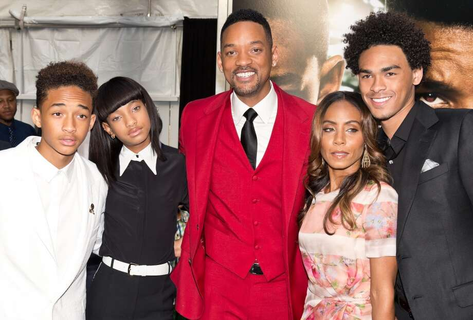 Will Smith is dad to Jaden, Willow and Trey Smith. Photo: Gilbert Carrasquillo, FilmMagic