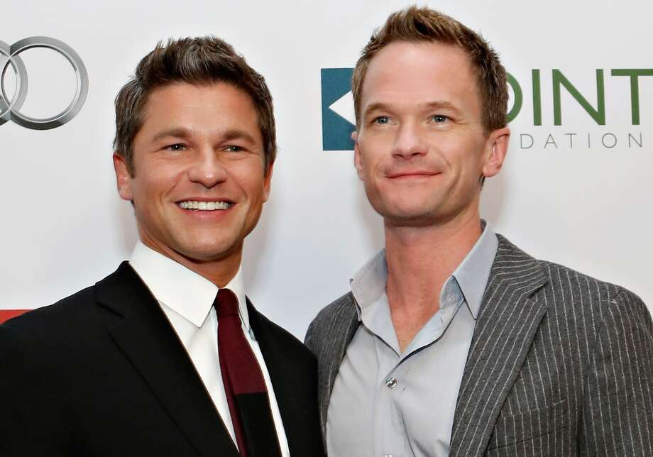 Neil Patrick Harris and partner David Burtka are parents to  Gideon Scott and Harper Grace, born in 2010. Photo: Cindy Ord, Getty Images