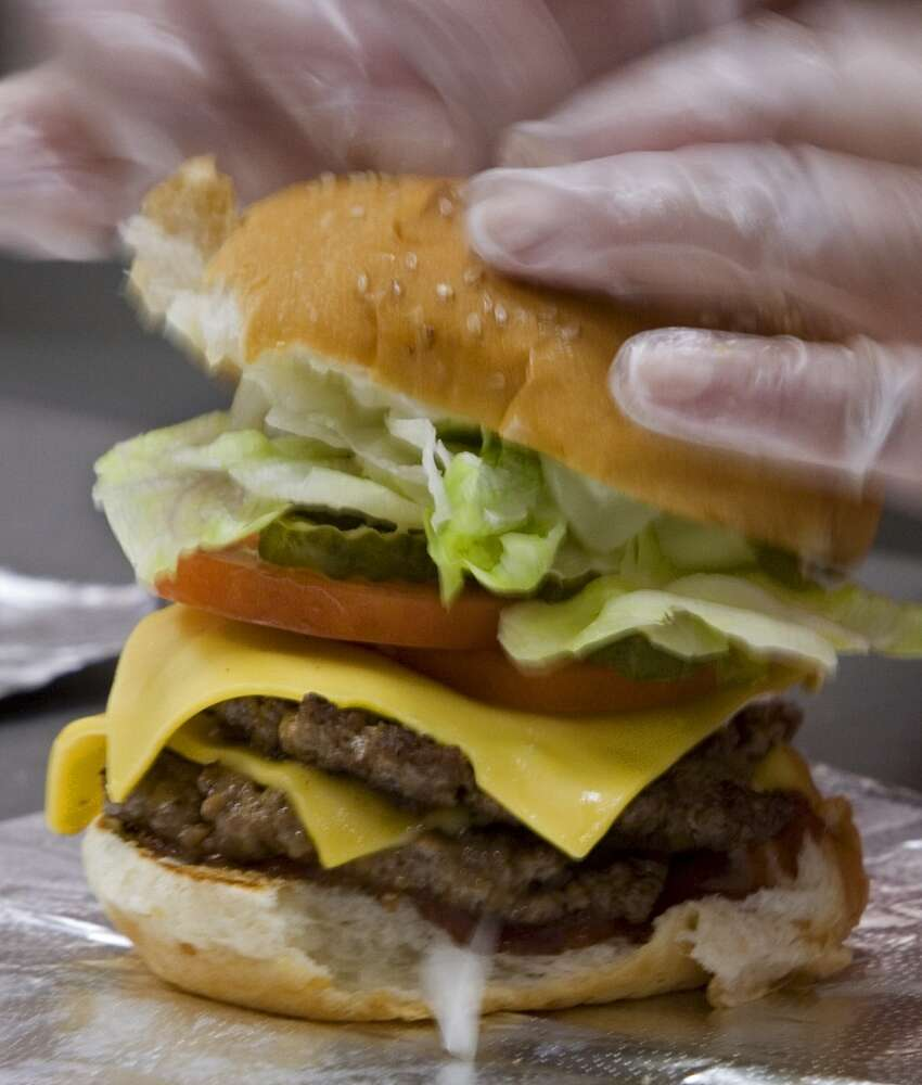 1. Five Guys Burgers and Fries, various locations. Visit website.
