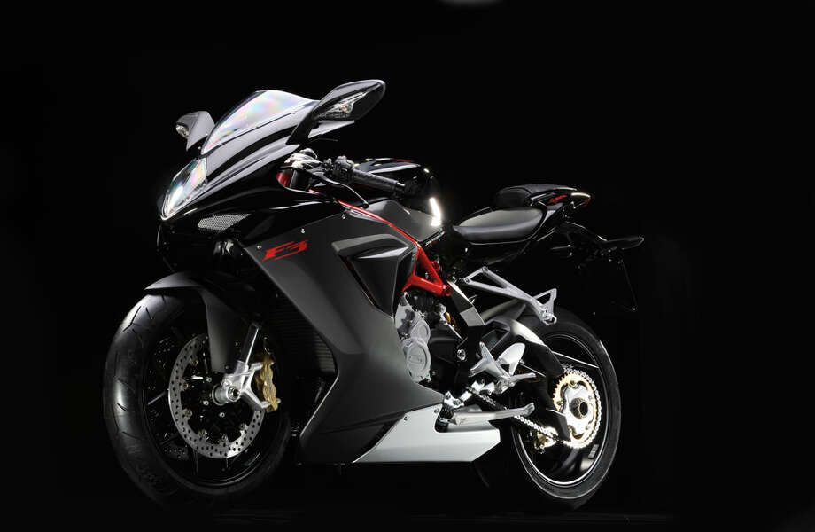 And he got a custom MV Agusta F3 675 for his 19th birthday.Source: Yahoo Photo: File