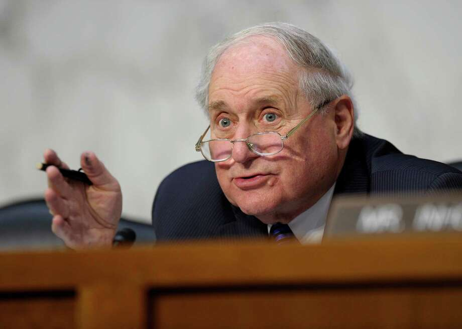 Senate Armed Services Committee Chairman Carl Levin, D-Mich., is siding with Pentagon top brass, opposing a plan to stem sex-related crimes in the armed forces by overhauling the military justice system. Photo: Susan Walsh, Associated Press / AP