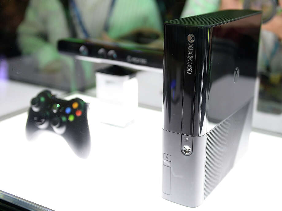 The new Microsoft XBOX 360 (console detail) as seen at the 2013 E3 Electronic Entertainment Expo at Los Angeles Convention Center on June 11, 2013 in Los Angeles, California. Photo: Michael Kovac, WireImage / 2013 Michael Kovac