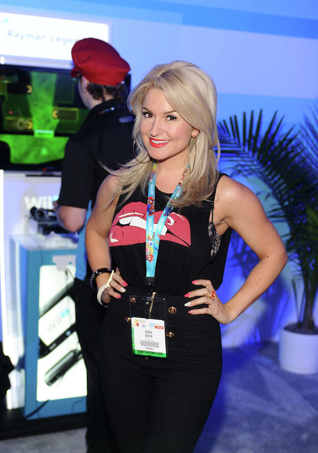 Actress Mara Marini attends Nintendo's booth to sample games for Wii U and Nintendo 3DS at the 2013 E3 Gaming Convention at Los Angeles Convention Center on June 12, 2013 in Los Angeles, California. Photo: Stefanie Keenan / 2013 Stefanie Keenan
