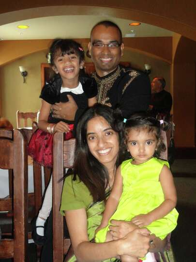 My husband, Tarun, is the best dad in the world!  When it comes to his daughters, his patience and a