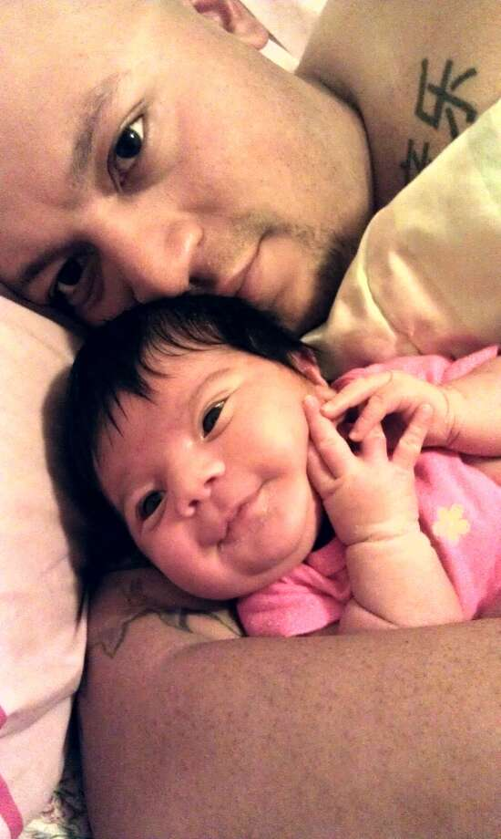 My husband is not only a handsome dad, he's a wonderful, amazing, caring, and sweet dad. When we brought our baby home from the hospital we were both extremely tired yet he still managed to get up and make bottles. I'm blessed to have a man who cares so much about his baby girl. This year we will be celebrating his first father's day & I want it to be one to remember.