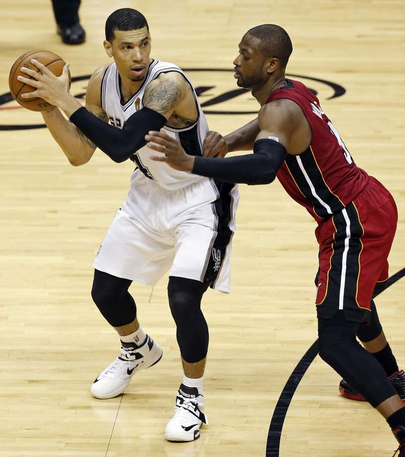 Danny Green helped carry the Spurs to victory in Tuesday's Game 3 and a 2-1 lead in the 2013 NBA Finals.