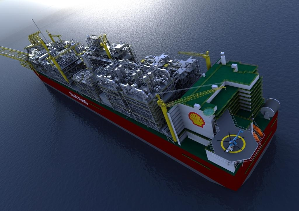 Shell starts up $15B Prelude FLNG project in Australia