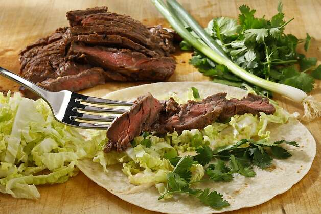 Marinated skirt steak. Photo: Craig Lee, Special To The Chronicle
