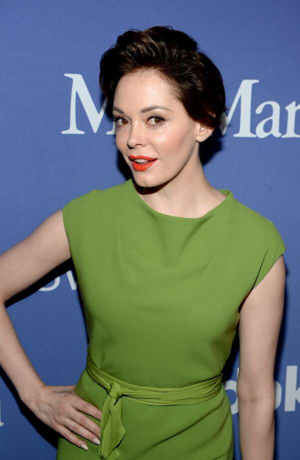 BEVERLY HILLS, CA - JUNE 12:  Actress Rose McGowan attends Women In Film's 2013 Crystal + Lucy Awards at The Beverly Hilton Hotel on June 12, 2013 in Beverly Hills, California.  (Photo by Michael Buckner/Getty Images for Women In Film)