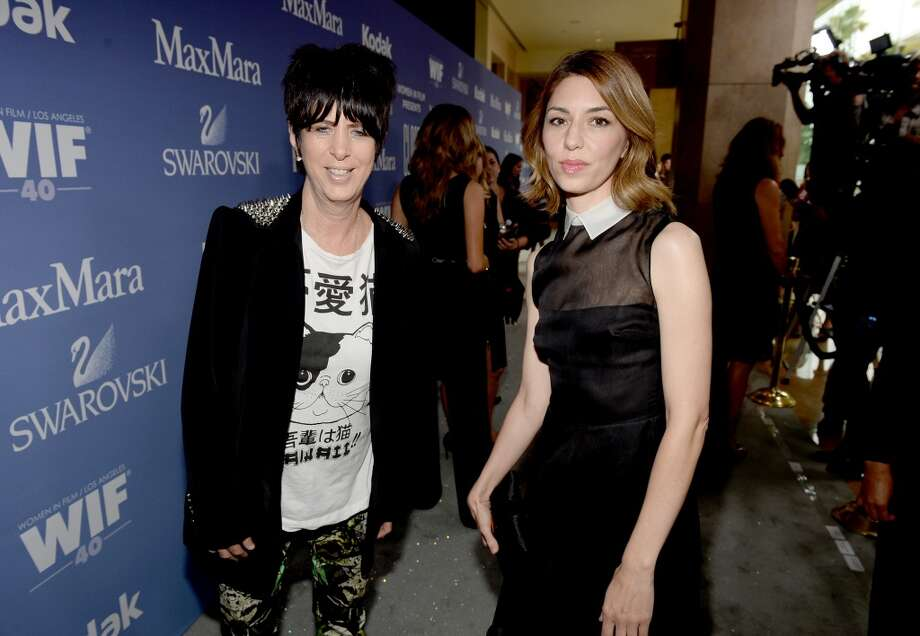 BEVERLY HILLS, CA - JUNE 12:  Songwriter Diane Warren (L) and director Sofia Coppola, recipient of the Dorothy Arzner Directors Award, attend Women In Film's 2013 Crystal + Lucy Awards at The Beverly Hilton Hotel on June 12, 2013 in Beverly Hills, California.  (Photo by Michael Buckner/Getty Images for Women In Film)