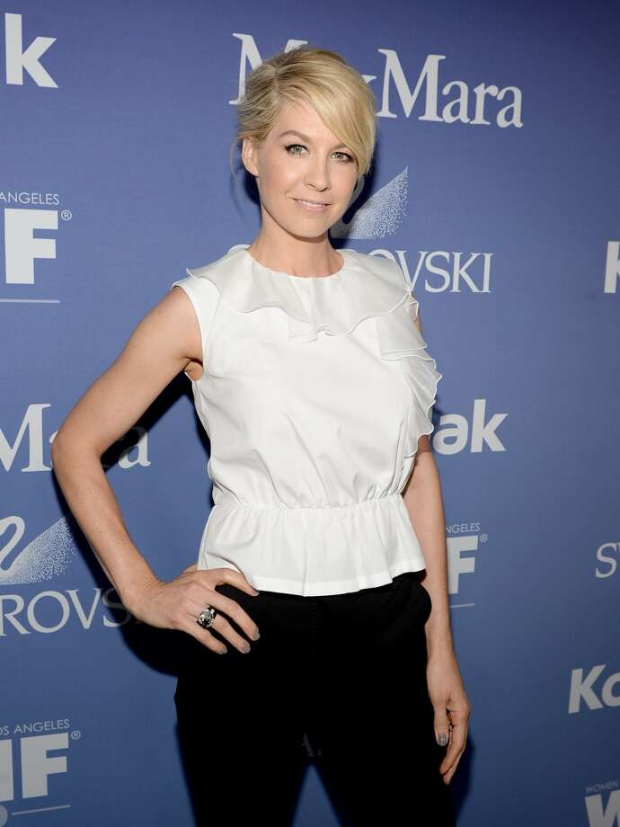 BEVERLY HILLS, CA - JUNE 12:  Host Jenna Elfman attends Women In Film's 2013 Crystal + Lucy Awards at The Beverly Hilton Hotel on June 12, 2013 in Beverly Hills, California.  (Photo by Michael Buckner/Getty Images for Women In Film)