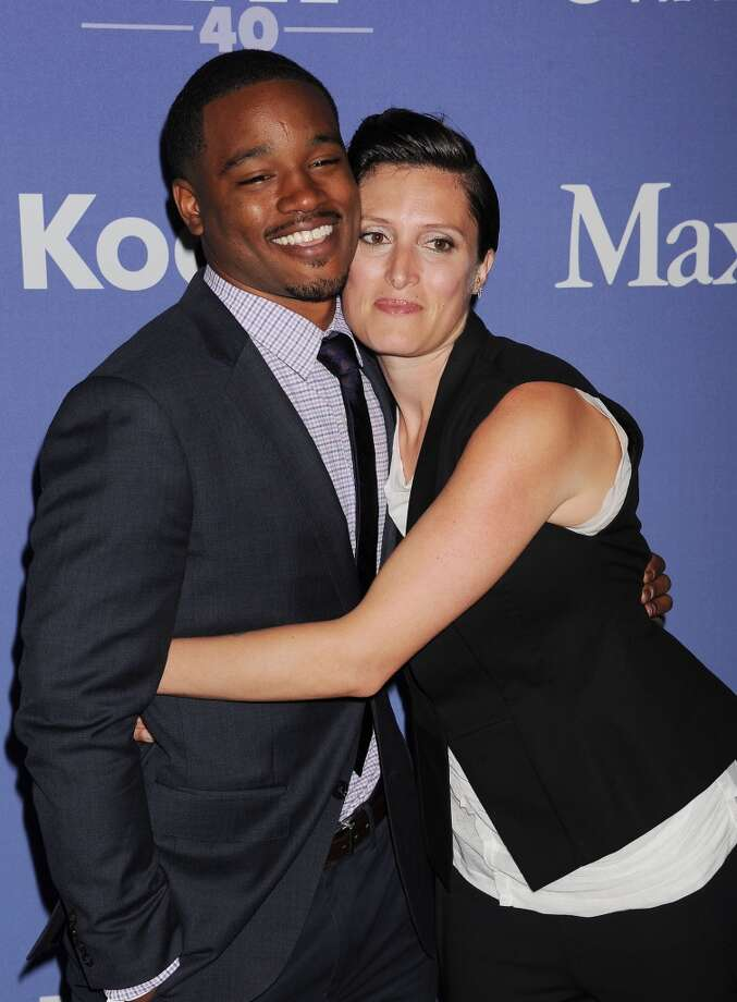BEVERLY HILLS, CA- JUNE 12: Director Ryan Coogler (L) and cinematographer Rachel Morrison  attend Women In Film's 2013 Crystal + Lucy Awards at The Beverly Hilton Hotel on June 12, 2013 in Beverly Hills, California.(Photo by Jeffrey Mayer/WireImage)