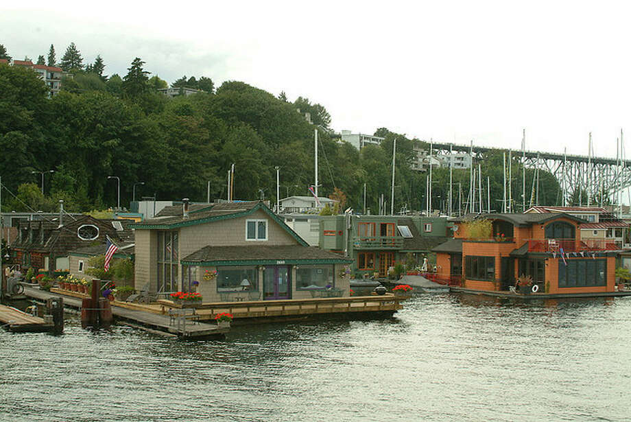 "No one thought about evictions, moorage rates or government regulations after seeing ""Sleepless in Seattle."" (That's ""Tom Hanks' house"" on the left). The 1993 movie made everyone think that houseboats are so ...  Photo: Seattle Municipal Archives, /"
