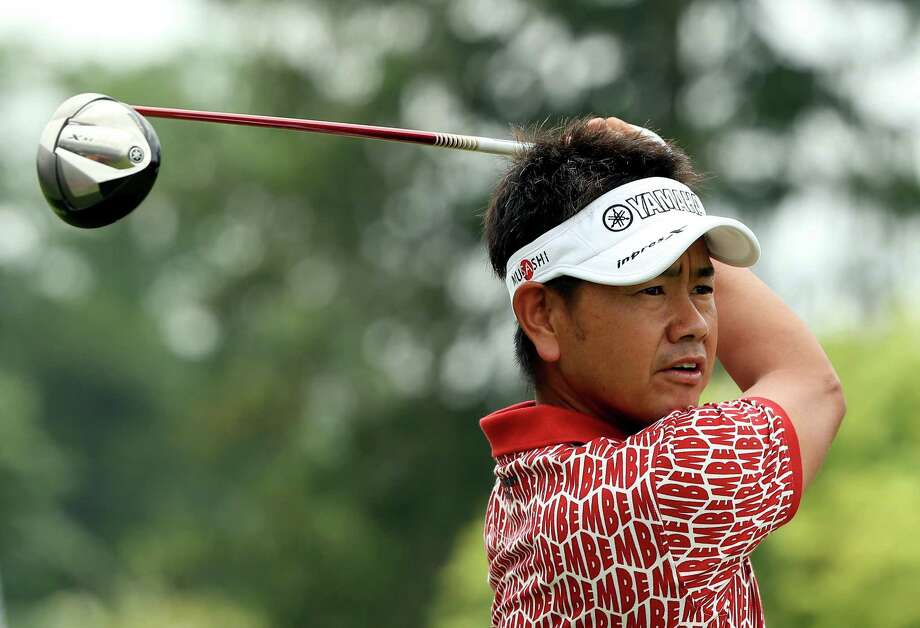ARDMORE, PA - JUNE 13: Hiroyuki Fujita of Japan hits his tee shot on the 14th hole during Round One of the 113th U.S. Open at Merion Golf Club on June 13, 2013 in Ardmore, Pennsylvania. Photo: Andrew Redington, Getty Images / 2013 Getty Images