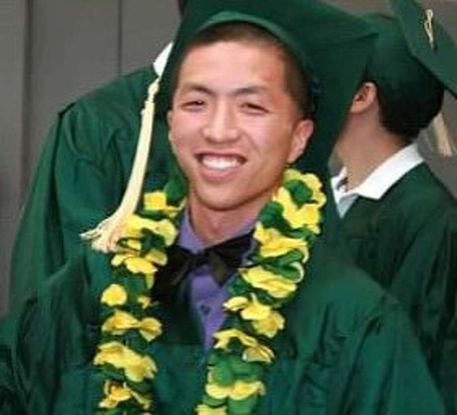 Aya Nakano, 22, of Emeryville was shot dead after his car was rear-ended in North Oakland in 2013. Photo: Oakland Police Department, Courtesy