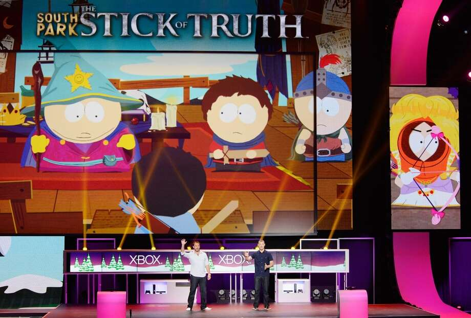 'South Park: The Stick of Truth' was released during the Microsoft Xbox press conference. The game, written by 'South Park' creators Trey Parker and Matt Stone, is said to be one of the top 5 most anticipated games this season.