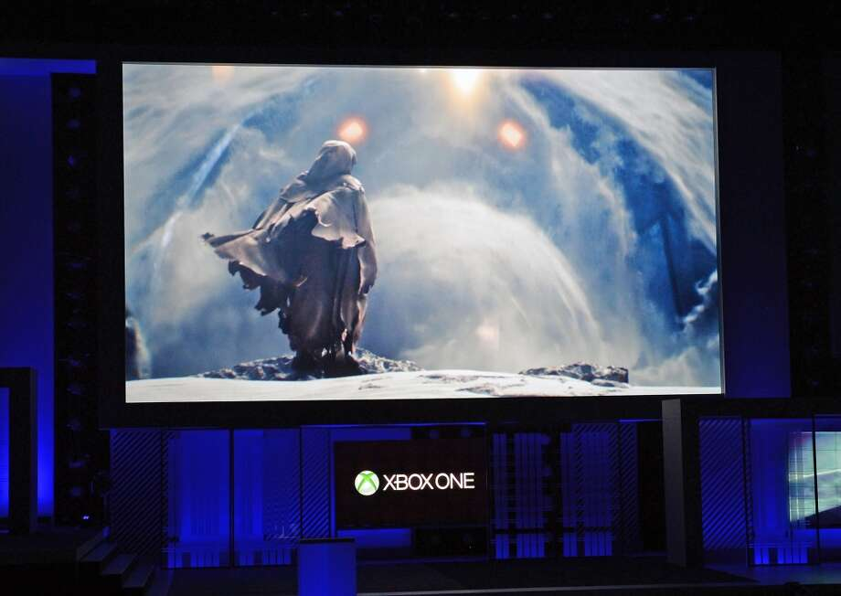 The next generation 'Halo' series electronic game to be released in 2014 for Xbox One in 60 frames per second. Here it's previewed at  E3.