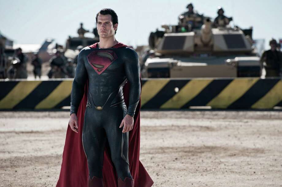 "This film publicity image released by Warner Bros. Pictures shows Henry Cavill as Superman in ""Man of Steel."" (AP Photo/Warner Bros. Pictures, Clay Enos) Photo: Clay Enos"