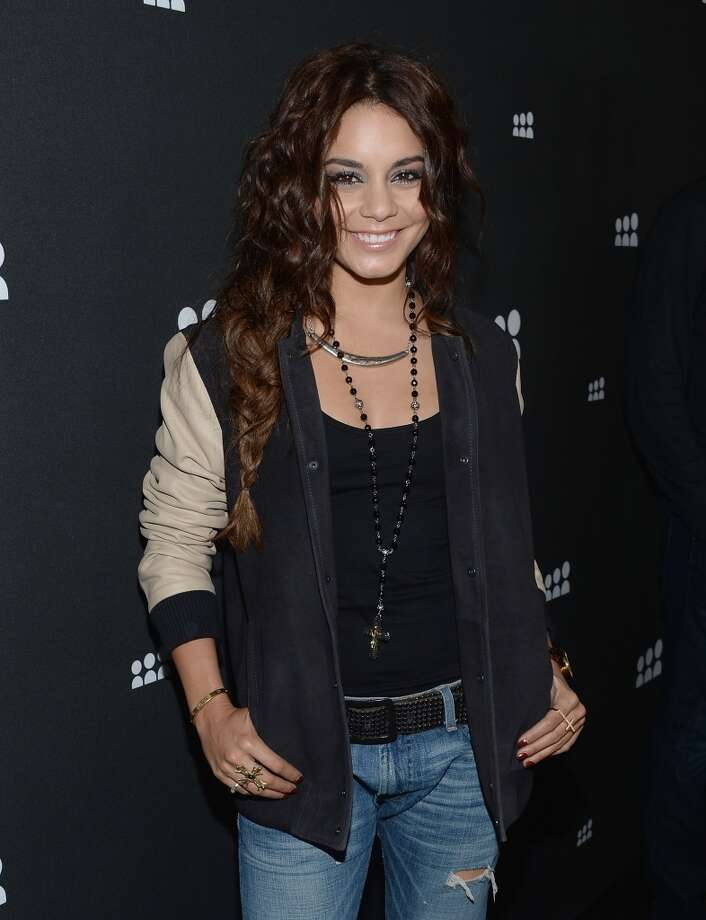 LOS ANGELES, CA - JUNE 12:  Vanessa Hudgens attends the New Myspace launch event on June 12, 2013 in Los Angeles, California.  (Photo by Jason Kempin/Getty Images for Myspace)