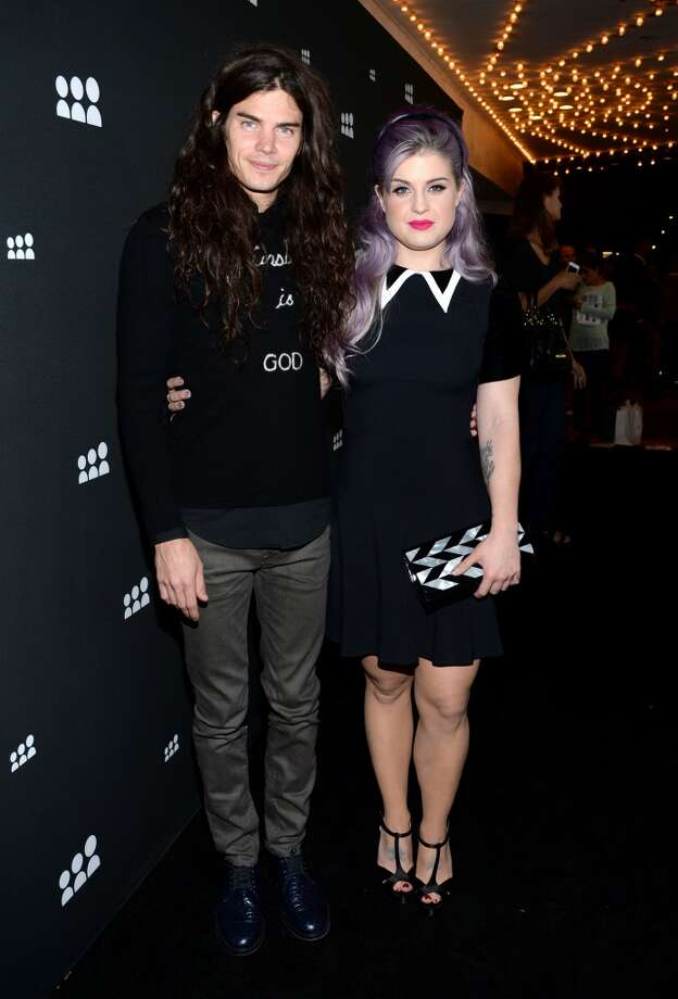 LOS ANGELES, CA - JUNE 12:  Chef Matthew Mosshart and TV personality Kelly Osbourne attend the new Myspace launch event at the El Rey Theatre on June 12, 2013 in Los Angeles, California  (Photo by Jason Kempin/Getty Images for Myspace)