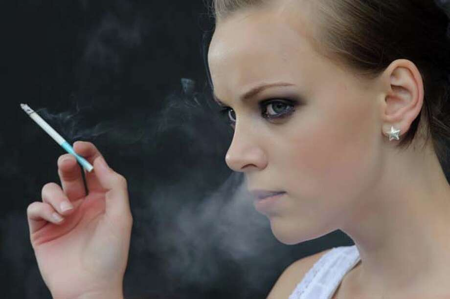 According to a study published in 2012 by the Surgeon General, one in four high school students are smokers. More than 80 percent of adult smokers began smoking by age 18.   Out of every three of these young smokers, one will die from tobacco-related causes and only one will quit. Photo: Alexey Tkachenko, Getty Images / (c) Alexey Tkachenko