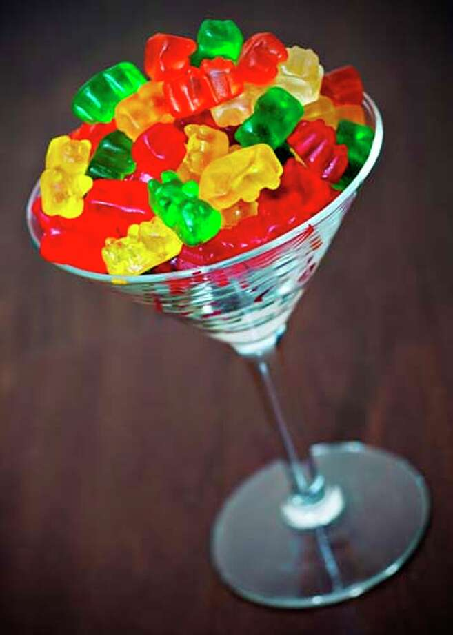 """Kids these days are also getting loaded off of vodka-soaked gummy bears. They're called """"boozy bears"""" (or """"drunken gummies"""" or """"rummy gummies"""" or """"sugar-spiked hangovers from hell""""), and they're created by soaking the candies overnight in vodka. According to some reports a bear can absorb as much as a half-teaspoon of alcohol.  These are especially dangerous for small children who believe they are just regular candy. Photo: Photography By Marissa Jill, Getty Images/Flickr Open / Flickr Open"""