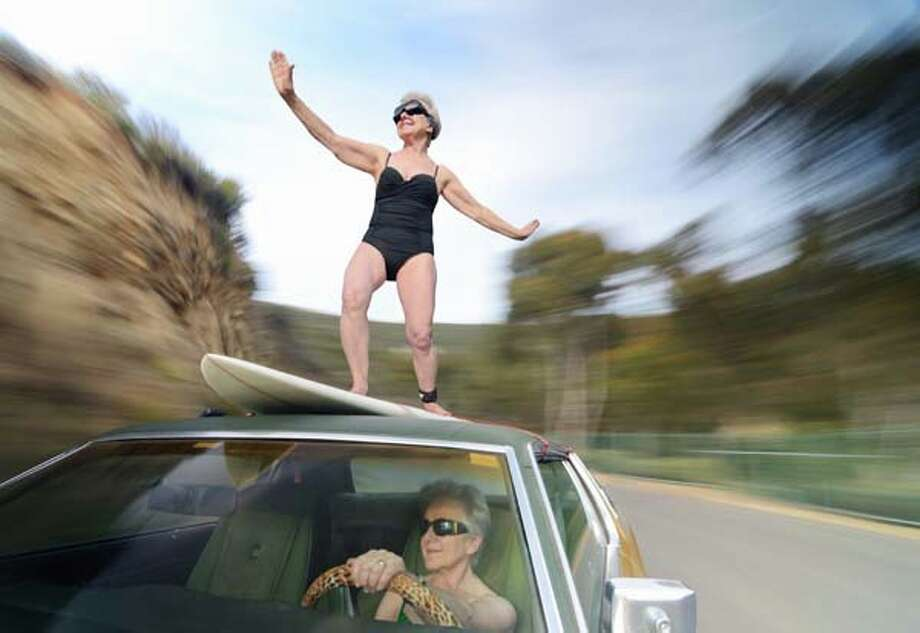This is an old activity, but more kids are finding out about it because of videos posted to the web. Basically, a kid will climb up to the top of a car and attempt to stay on despite high speeds. 