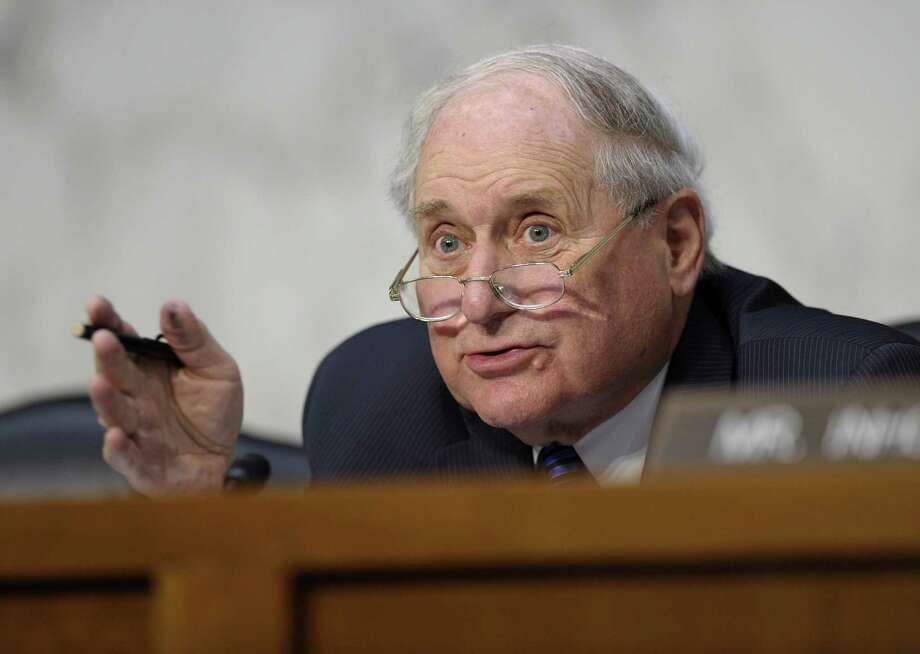 Senate Armed Services Committee Chairman Sen. Carl Levin, D-Mich., orchestrated committee approval of weak legislation to keep commanders involved in deciding whether to prosecute sexual assault cases. Levin is on the wrong track. Photo: Susan Walsh / Associated Press