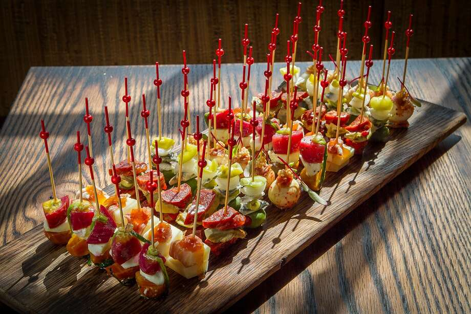 The Bite-Size Skewers at Coqueta in San Francisco, Calif., are seen on Monday,  June 10th, 2013. Photo: John Storey, Special To The Chronicle