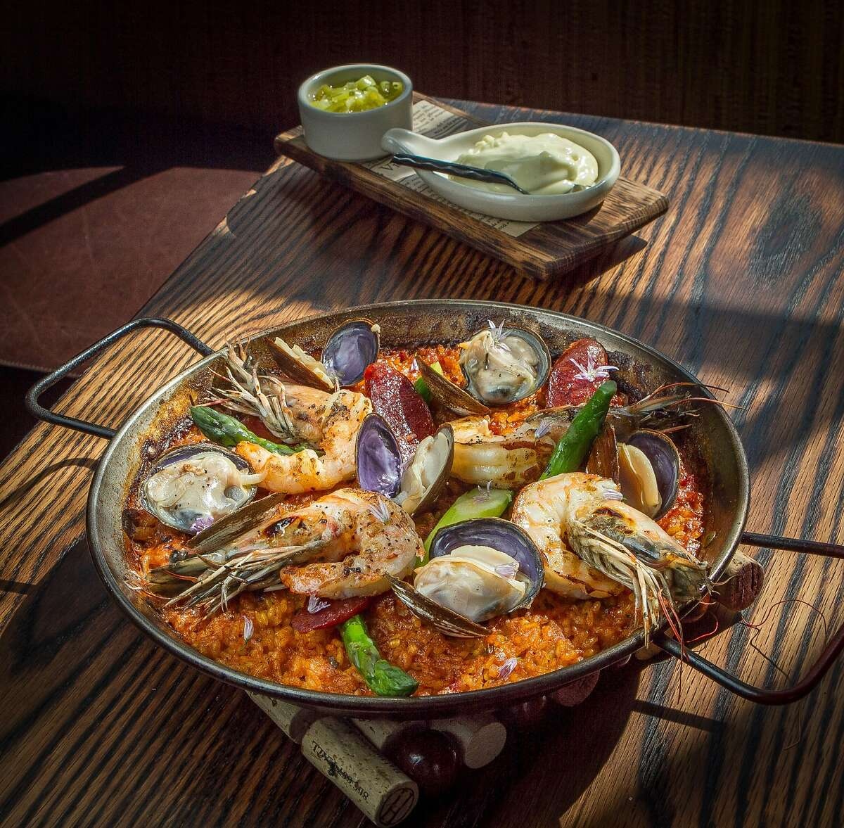The Paella at Coqueta in San Francisco, Calif., is seen on Monday, June 10th, 2013.