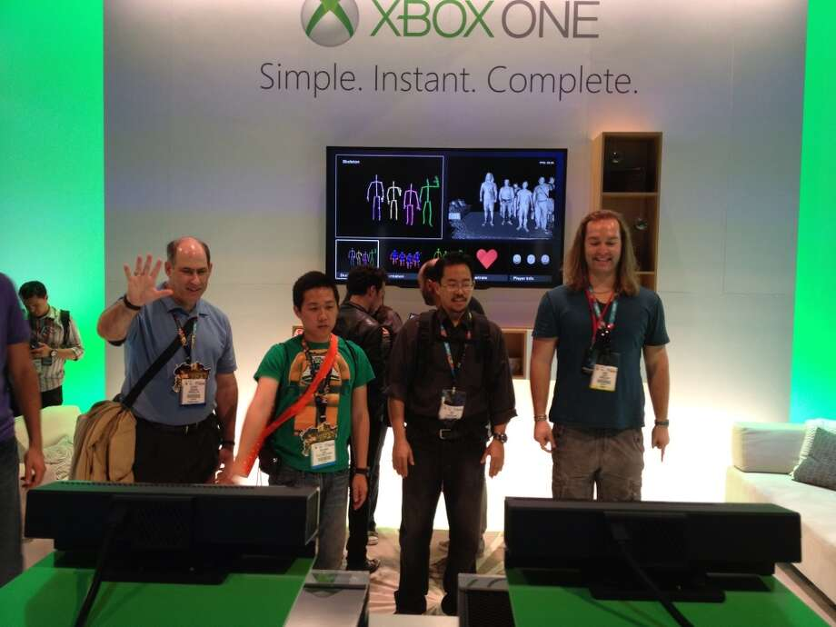 E3 attendees see what they look like on Xbox One