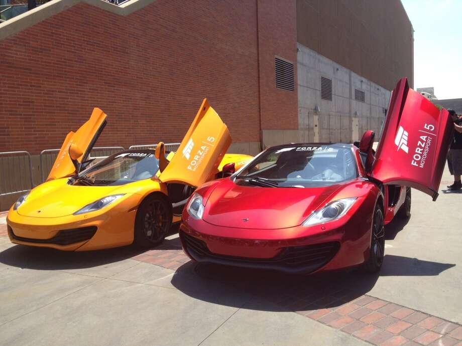 "Real cars promo ""Forza 5."""