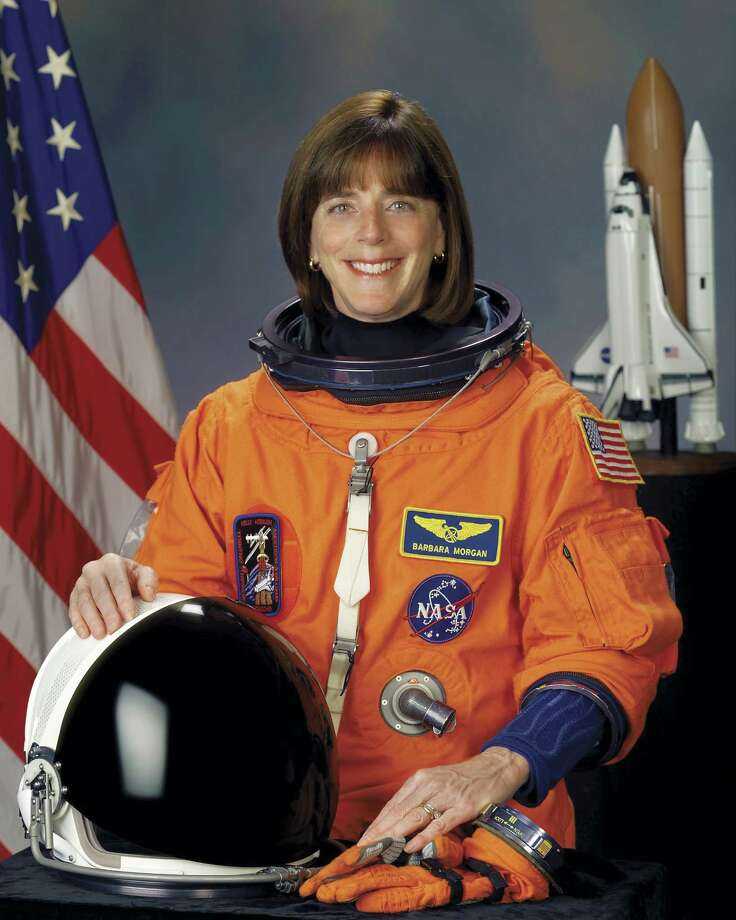 Barbara Morgan was McAuliffe's backup for the ill-fated 1986 mission. In 2007, she finally became the first teacher in space. Photo: Encyclopaedia Britannica, UIG Via Getty Images / Universal Images Group Editorial