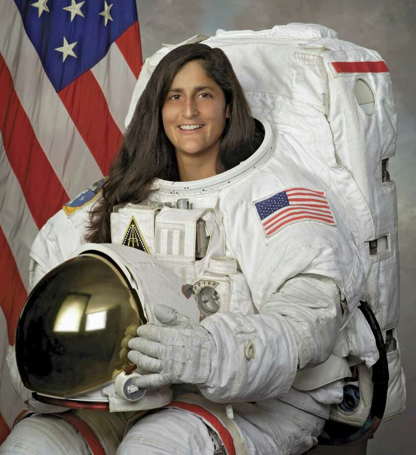 In December 2006, astronaut Sunita Williams set a world record for women with four spacewalks totaling 29 hours and 17 minutes. Astronaut Peggy Whitson broke the record in 2008. But then, in 2012, Williams spent four months working aboard the International Space Station, including three space walks, allowing her to reclaim the record. Photo: Encyclopaedia Britannica, UIG Via Getty Images / Universal Images Group Editorial