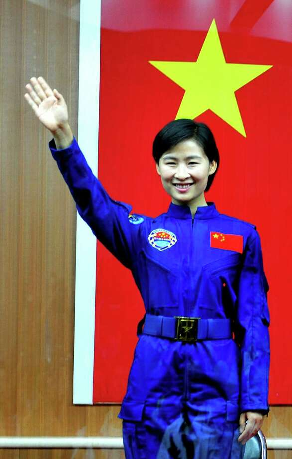 China's first female astronaut was Liu Yang, in June 2012. Photo: STR, AFP/Getty Images / 2012 AFP
