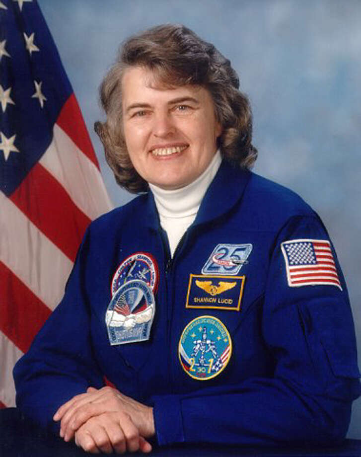 Astronaut Shannon Lucid took part in five spaceflights. She also was the only American woman to serve aboard the Russian Mir space station, living there for more than 188 days, more than any other American on Mir and the longest stay in space for any woman until 2006. She served as NASA's Chief Scientist in 2002 and 2003. Photo: AFP, AFP/Getty Images / AFP