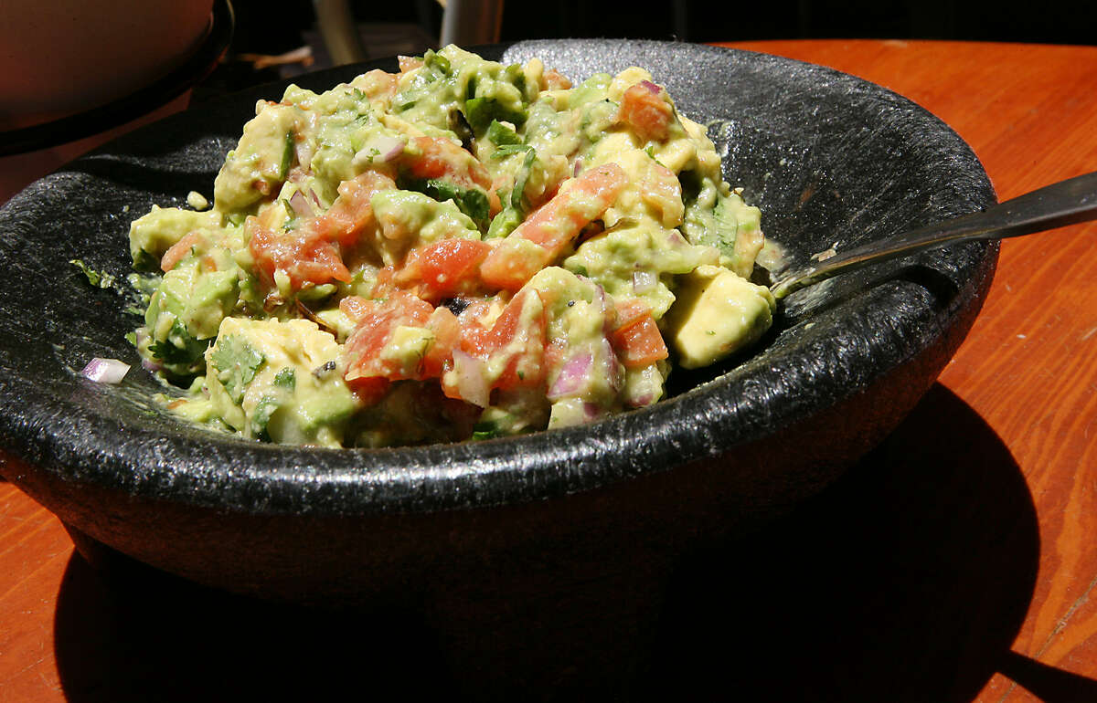 Boudro's Texas Bistro on the Riverwalk serves 120-200 orders of guacamole a day, with almost every table ordering it.