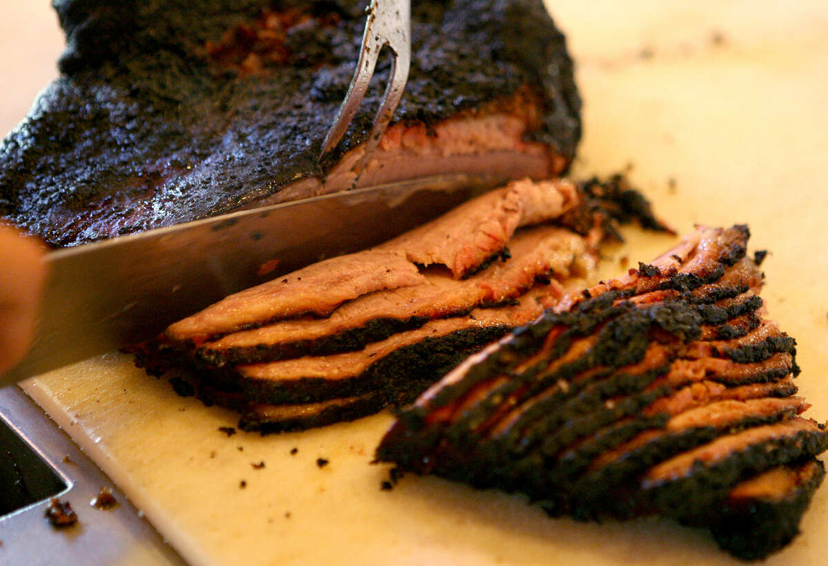 Rudy's Country Store and Bar-B-Q, which has three locations in the San Antonio area, won the Readers' Choice Award for best brisket.