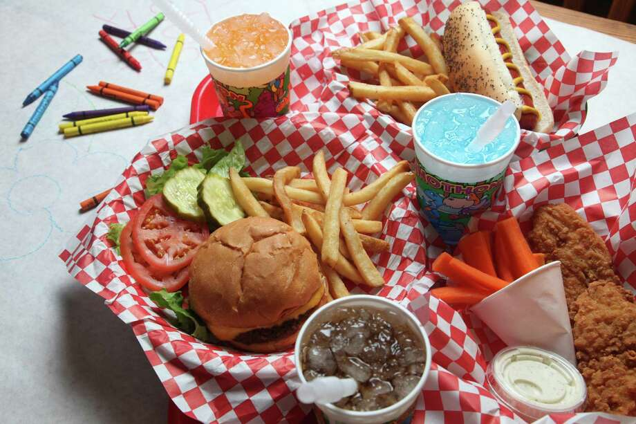A fenced-in outdoor play area and kid favorites such as burgers, hot dogs and chicken strips make Big's Burger Joint a favorite with parents.