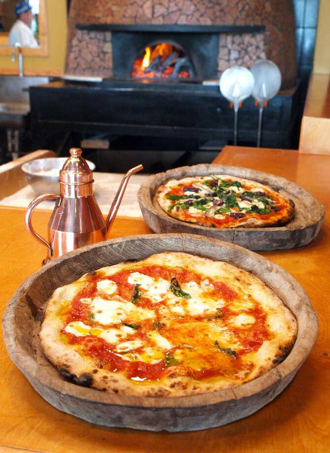 Dough Pizzeria Napoletana won both Readers' Choice and Critics' Choice awards for best pizza (non-chain/local).
